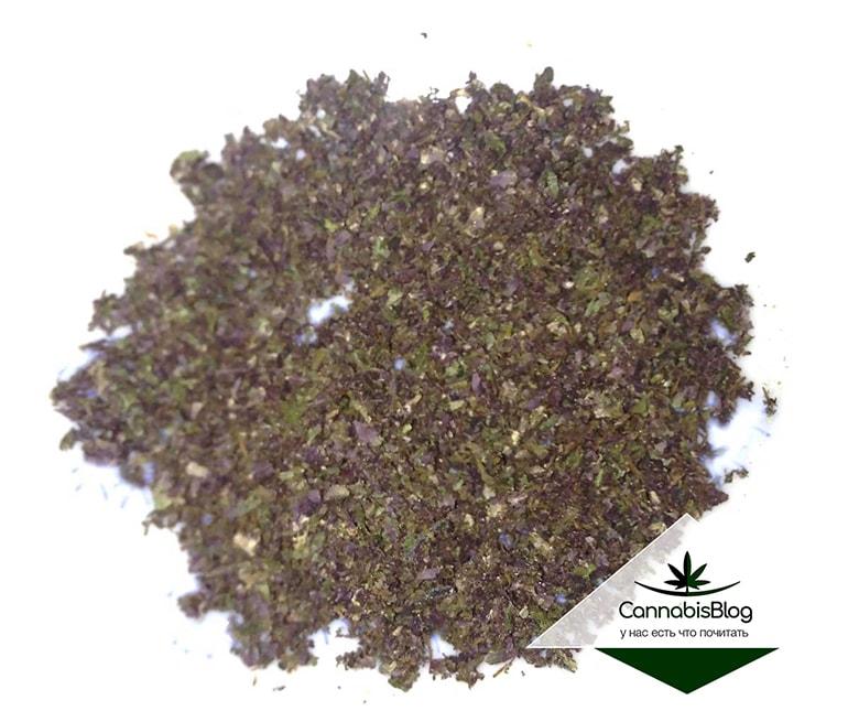 Зелёно - фиолетовый стафф