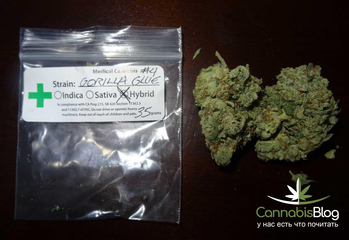 Медицинская марихуана из Калифорнии