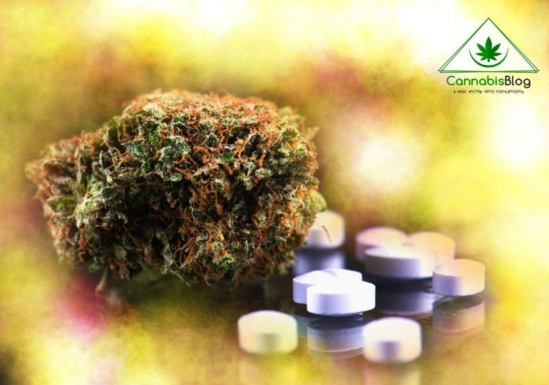 марихуана в качестве обезбаливающего