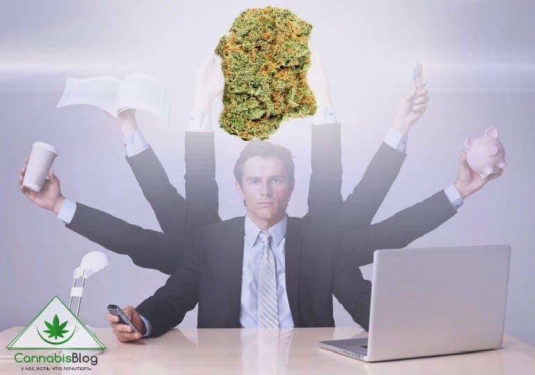 курение марихуаны на работе
